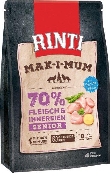 RINTI Max-I-Mum Senior Huhn Hundetrockenfutter