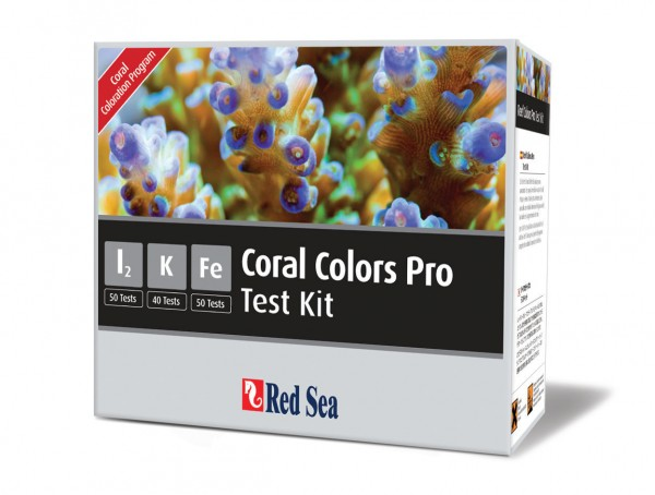 Red Sea Coral Colors Test-Set