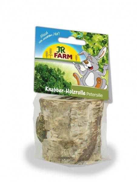 JR FARM Knabber-Holzrolle Petersilie 100g Kleintiersnack