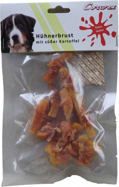 Corwex Hühnerbrust mit süßer Kartoffel 70g Hundesnack