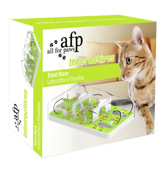 all for paws (afp) Cat Feeder Puzzle Katzenspielzeug