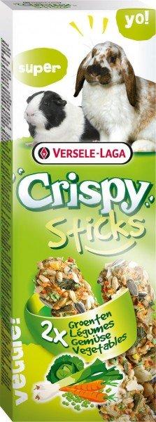 Crispy Sticks Kaninchen-Meerschweinchen Gemüse 2 Stück 110g Kleintiersnack