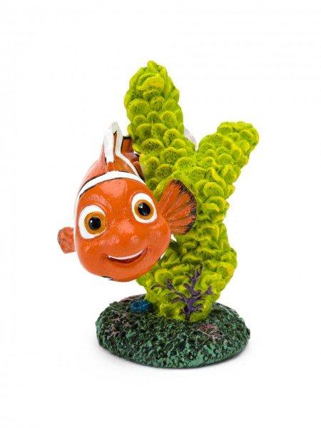 """Pennplax """"Findet Dorie"""" Nemo mit Koralle M grün Aquariendeko"""