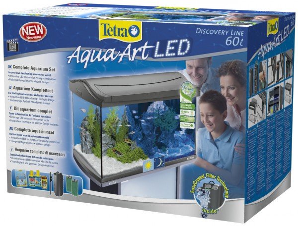 Tetra AquaArt LED Aquarium-Set 60 Liter anthrazit