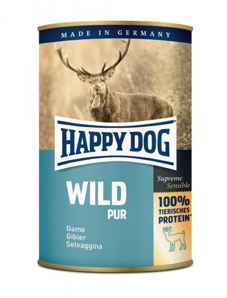 HAPPY DOG Pur 400g Dosen Hundenassfutter