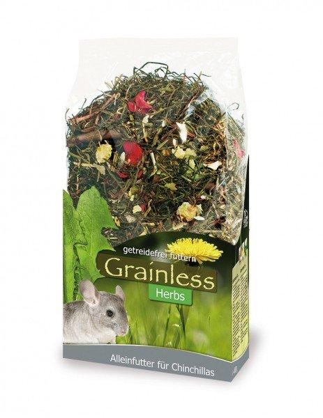 JR FARM Nager Grainless Herbs Chinchilla 400g Kleintierfutter