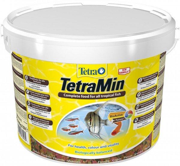 TetraMin 10 Liter Hauptfutter für alle Zierfische