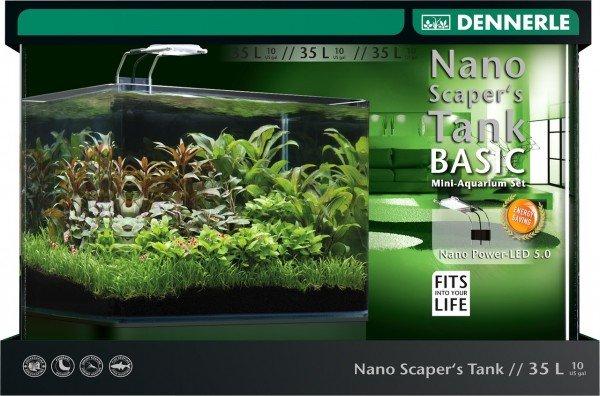 DENNERLE Nano Scaper's Tank Basic Complete 35 Liter