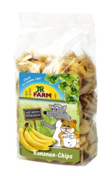 JR FARM Bananen-Chips 150g Kleintiersnack