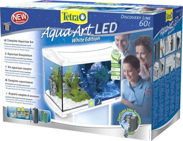 Tetra AquaArt LED Aquarium Set 60 Liter weiß