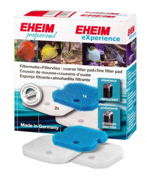EHEIM 2616220 Filtermatte + Filtervlies Filtermasse für eXperience 150/250/250T (2422/24, 2124)