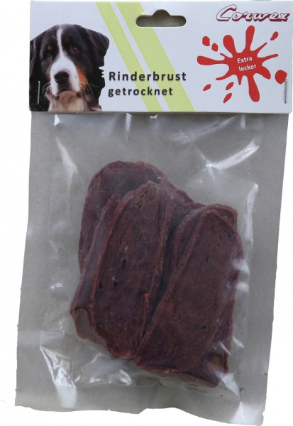 Corwex Rinderbrust getrocknet Hundesnack