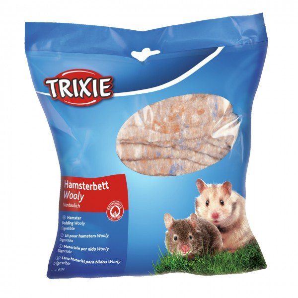 TRIXIE Wooly Hamsterbett braun