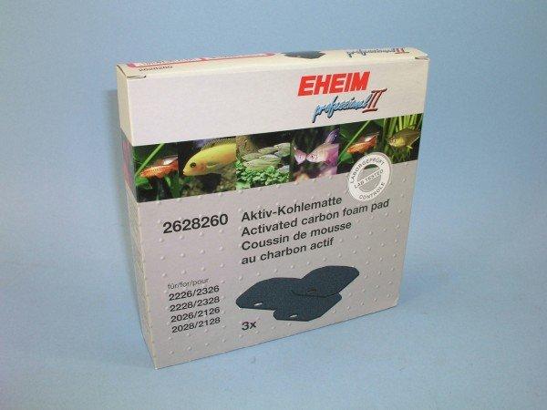 EHEIM 2628260 Aktivkohlematte (3 Stück) für eXperience 350 (2426)