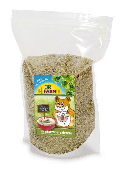JR FARM Nager Breifutter Granivoren 200g Nahrungsergänzung für Kleintiere