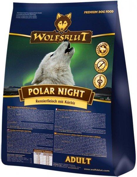 WOLFSBLUT Polar Night Rentierfleisch mit Kürbis und Süßkartoffeln Hundetrockenfutter