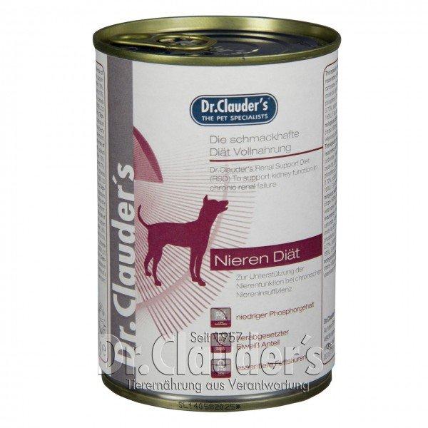 Dr. Clauder's RSD Nieren Diät Hundenassfutter