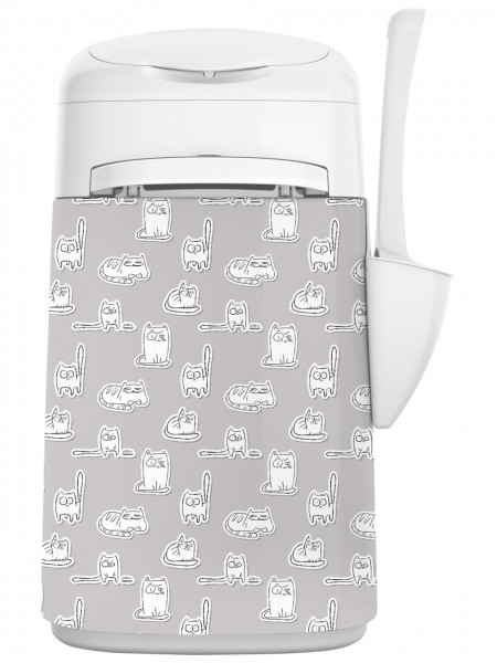 LitterLocker FASHION Stoff-Bezug Cartoon Cats