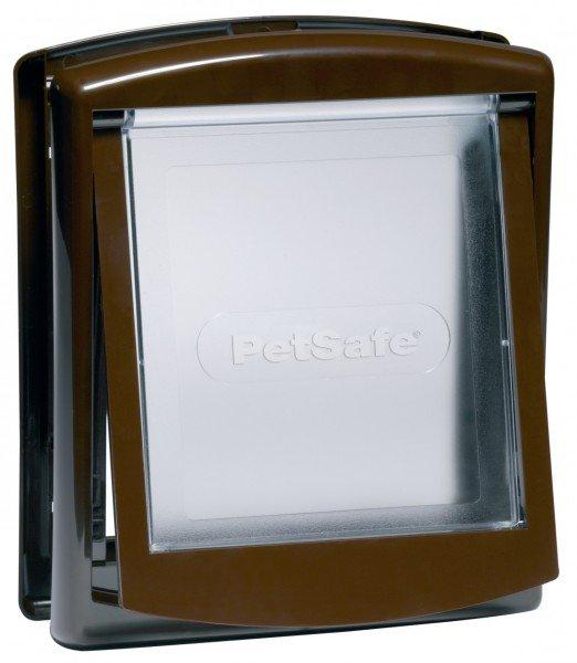 PetSafe Staywell Original 2-Wege Haustiertüre klein braun