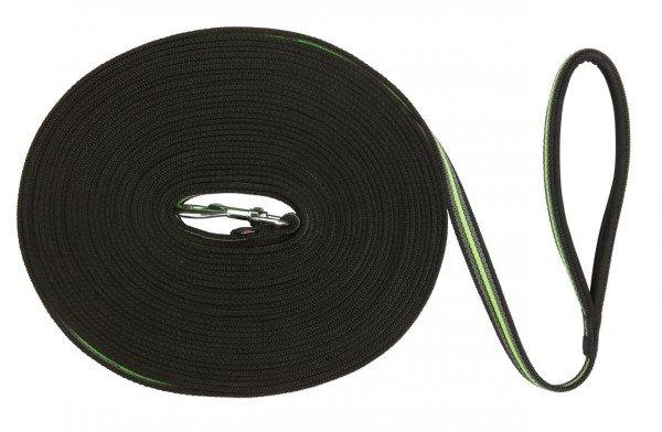 TRIXIE Fusion Schleppleine schwarz/grün