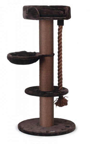 Beeztees Kratzbaum Havilo 80x80x170cm braun