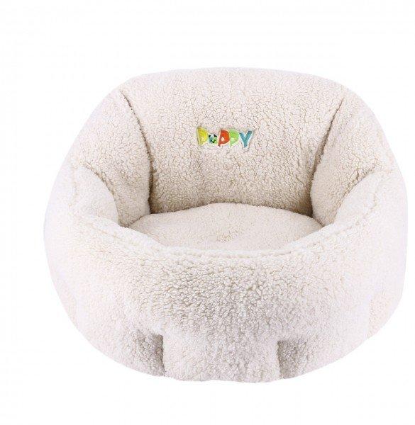 Nobby Komfortbett PUPPY 50 x 45 x 32cm elfenbein