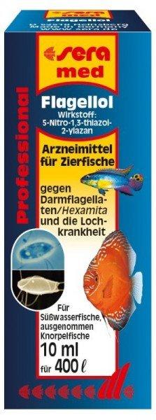 sera med Professional Flagellol 10 ml Medikament für Zierfische