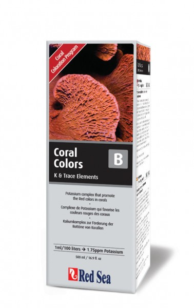 Red Sea Coral Colors B (Kalium) 500 ml