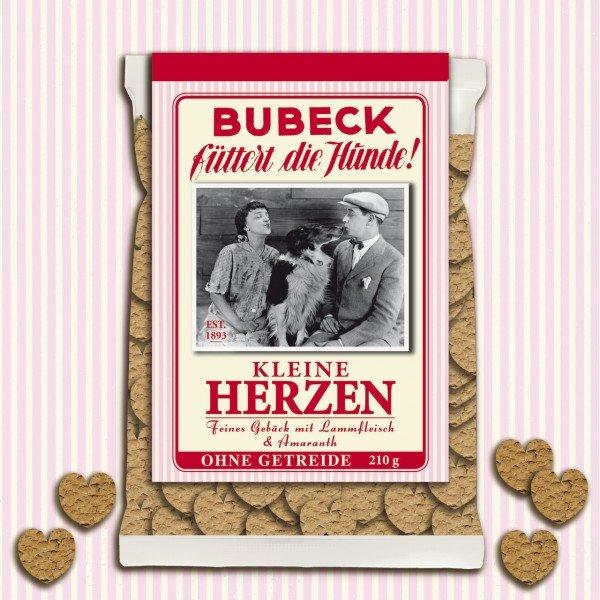 Bubeck Kleine Herzen 210g Hundesnack