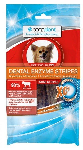 bogadent DENTAL ENZYME STRIPES MINI 100g Zahnpflege Hundekauartikel