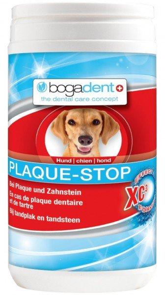 bogadent PLAQUE-STOP 70g Pulver Zahnpflege Nahrungsergänzung für Hunde