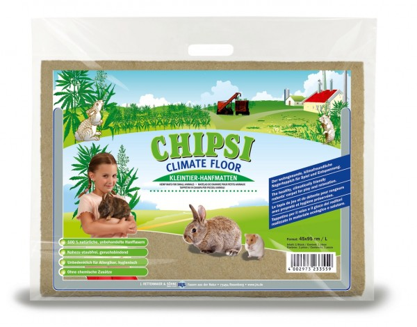 CHIPSI Climate Floor Kleintier-Hanfmatte L 45 x 95 cm