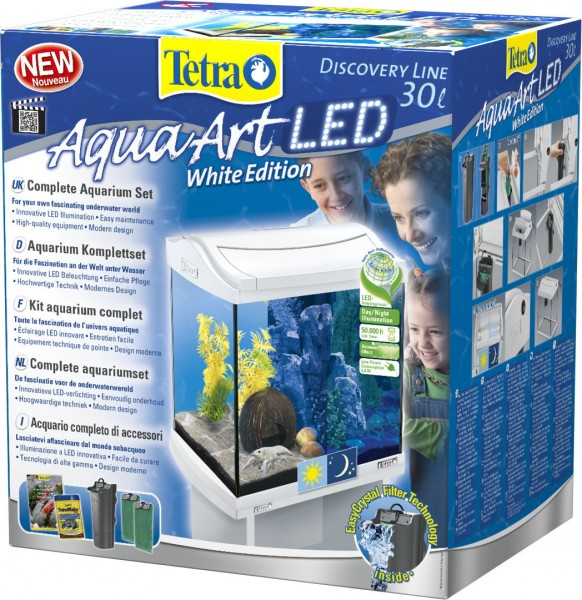 Tetra AquaArt LED Aquarium-Set 30 Liter weiß