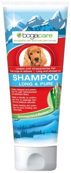 bogacare SHAMPOO LONG & PURE 200ml Hundefellpflege
