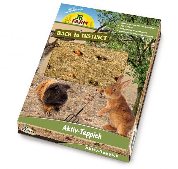 JR FARM Back to Instinct Aktiv-Teppich 175g Spielwiese für Kleintiere