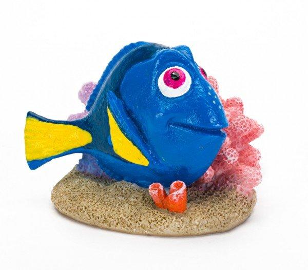 """Pennplax """"Findet Dorie"""" Dorie mit Koralle M Aquariendeko"""