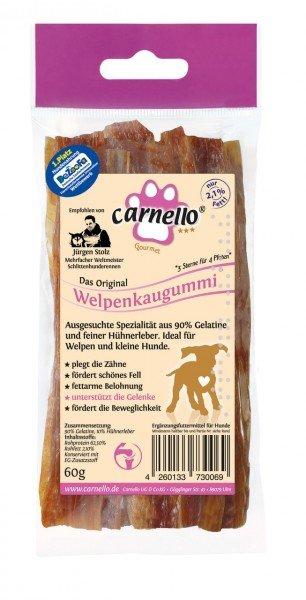 Carnello Welpenkaugummi 60g Hundekauartikel