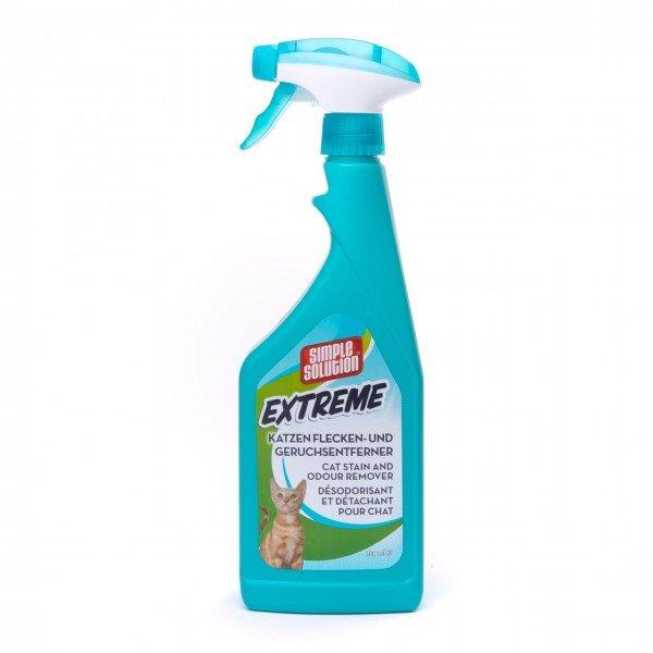 Simple Solution Katzen Flecken- & Geruchsreiniger EXTREME 750 ml Sprühflasche