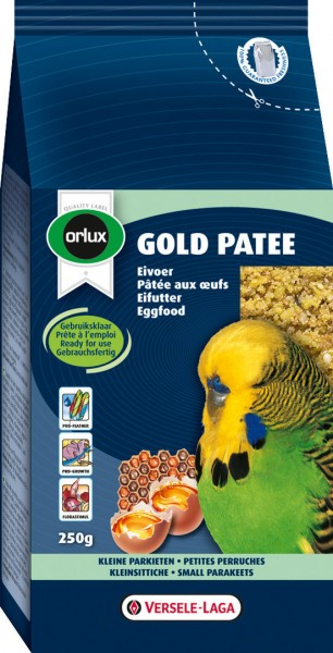 VERSELE-LAGA Orlux Gold Patee Kleinsittiche 250g Vogelfutter