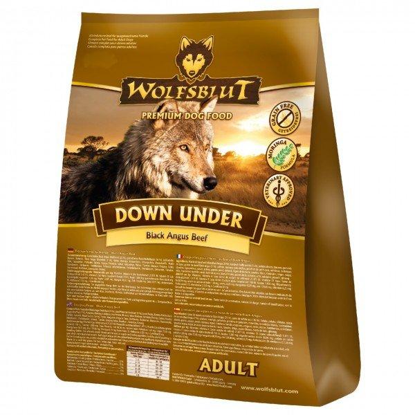 WOLFSBLUT Down Under Black Angus & Süßkartoffel Hundetrockenfutter