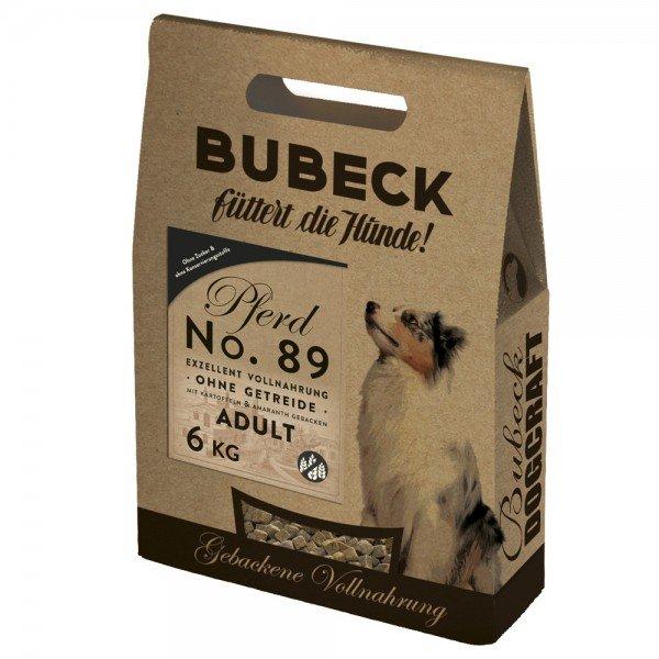 Bubeck Nr. 89 Adult Pferdefleisch mit Kartoffel gebacken Hundetrockenfutter