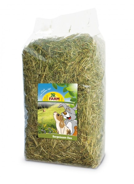JR FARM Nager Bergwiesen-Heu 1,5kg Raufutter für Kleintiere