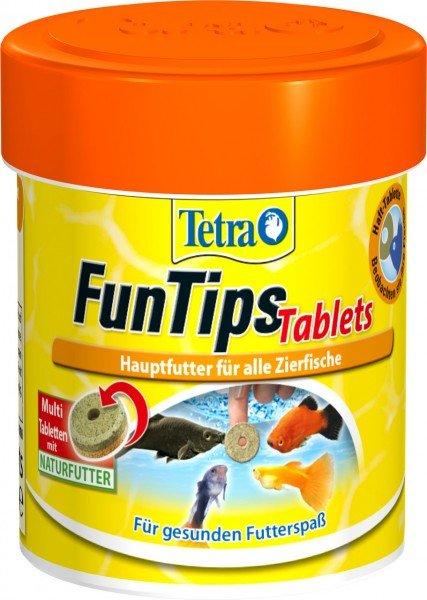 Tetra FunTips Tablets 75 Tabletten Fischfutter