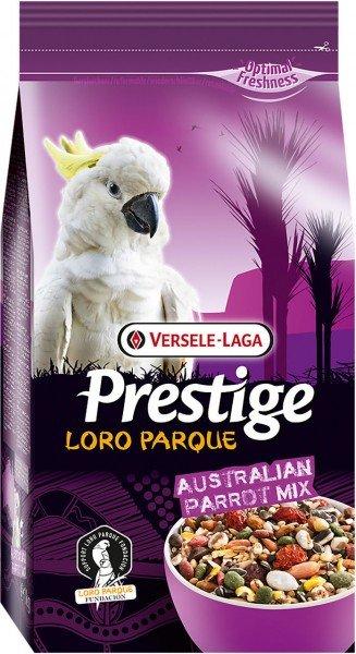 VERSELE-LAGA Prestige Loro Parque Australian Parrot Mix 1kg Vogelfutter