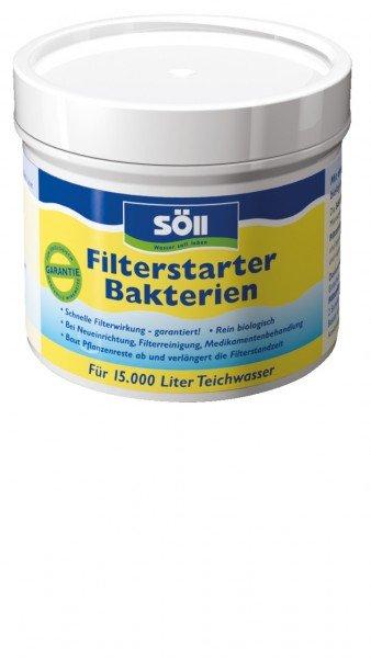 Söll Filterstarter Bakterien 100g für bis zu 15.000 Liter