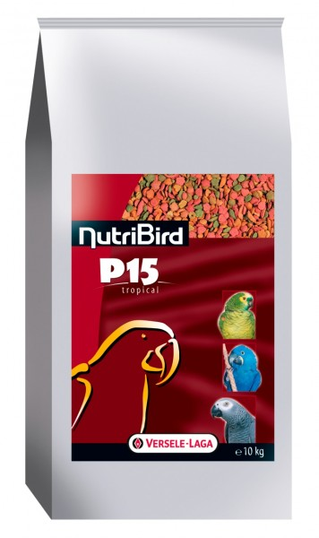 VERSELE-LAGA NutriBird P15 Tropical 10kg Papageienfutter