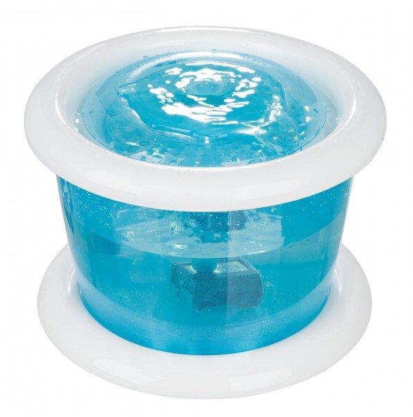 TRIXIE Wasserautomat Bubble Stream 3 Liter blau/weiß