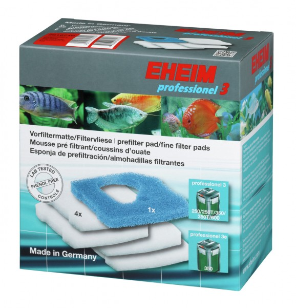 EHEIM 2616710 Filtermatte + Filtervlies für profür 3 350/600 (2073/75), prof 3e 350 (2173)
