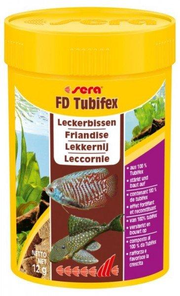 sera FD Tubifex 100ml Leckerbissen