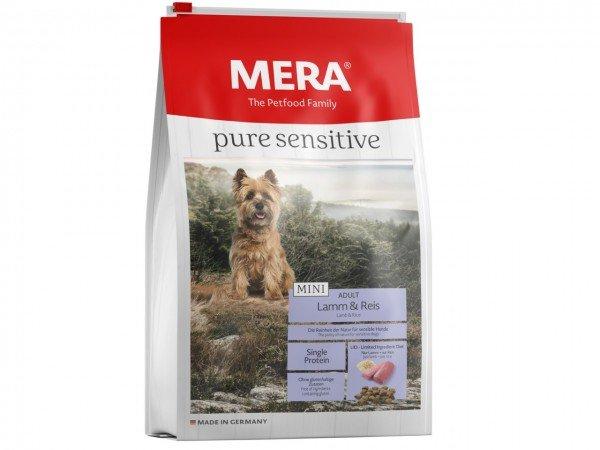 MERA DOG pure sensitive MINI Lamm & Reis Hundetrockenfutter